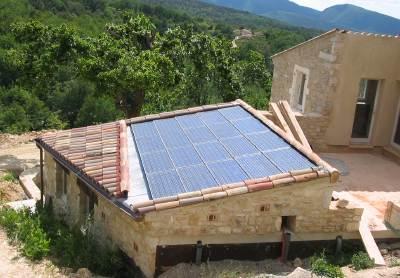 Enersun une premi re en france une toiture photovolta que for Combien coute une toiture complete