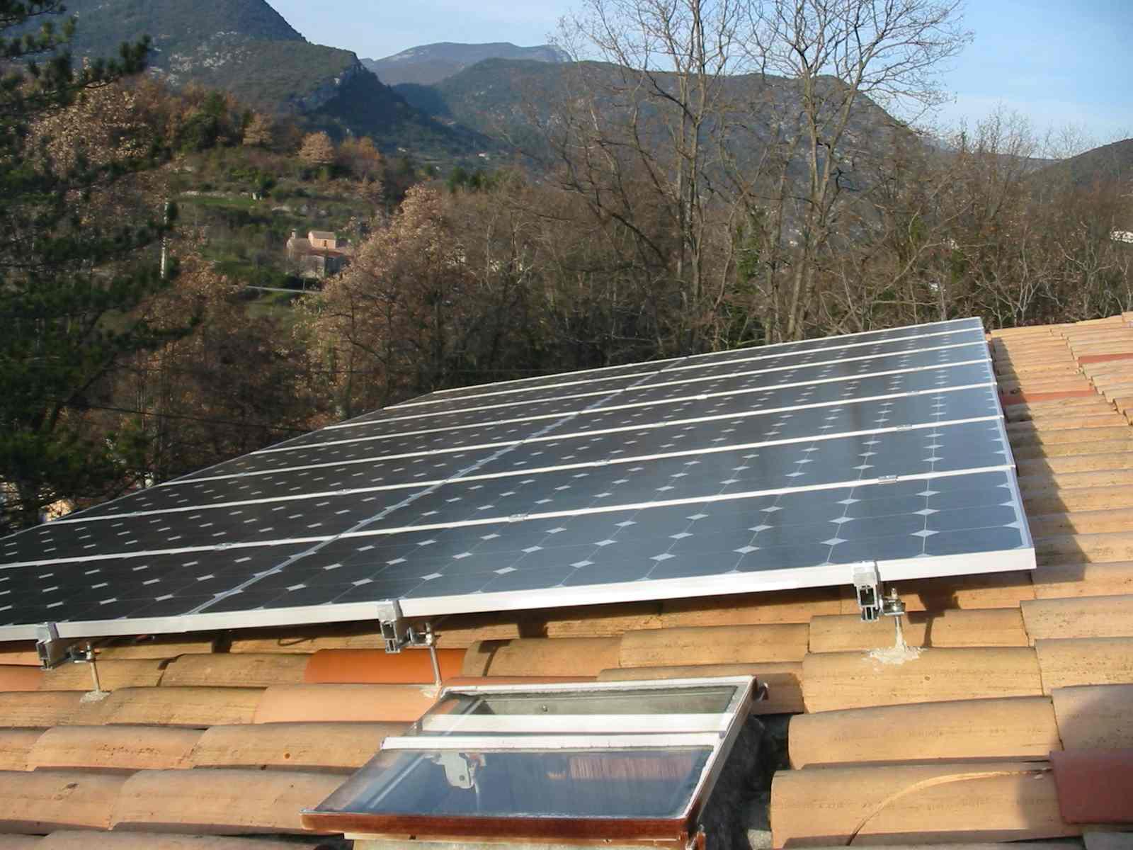 enersun modules photovolta ques sur toiture existante. Black Bedroom Furniture Sets. Home Design Ideas